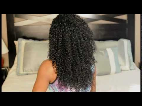 how to make natural hair curly without products