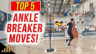 How to: Top 5 Basketball Moves that will BREAK ANKLES!