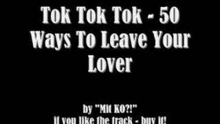 Watch Tok Tok Tok 50 Ways To Leave Your Lover video