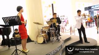 Joanna Dong, Kenneth Lun (Trumpet) & The Summertimes Hotshots : The Christmas Song