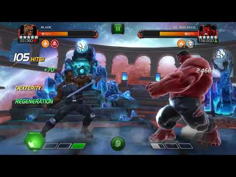 Blade 5 Star Rank 5 Vs Lab Hulk - INSANE Damage And Regen!
