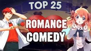 Top 25 Romance/Comedy Anime