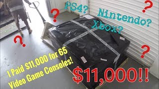 Ep. 45 - I Paid $11,000 for a Pallet Of 65 Video Game Consoles!