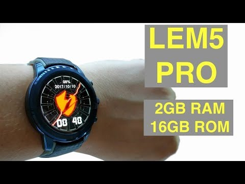 LEMFO LEM5 Pro 3G Smartwatch 2GB RAM 16GB ROM Heart Rate Monitor Bangla Review! Mobile Bazaar