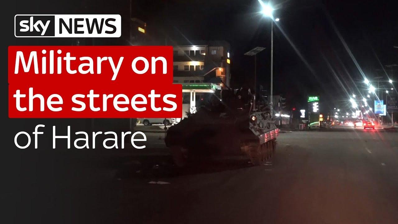Mugabe: On the streets of Zimbabwe's capital