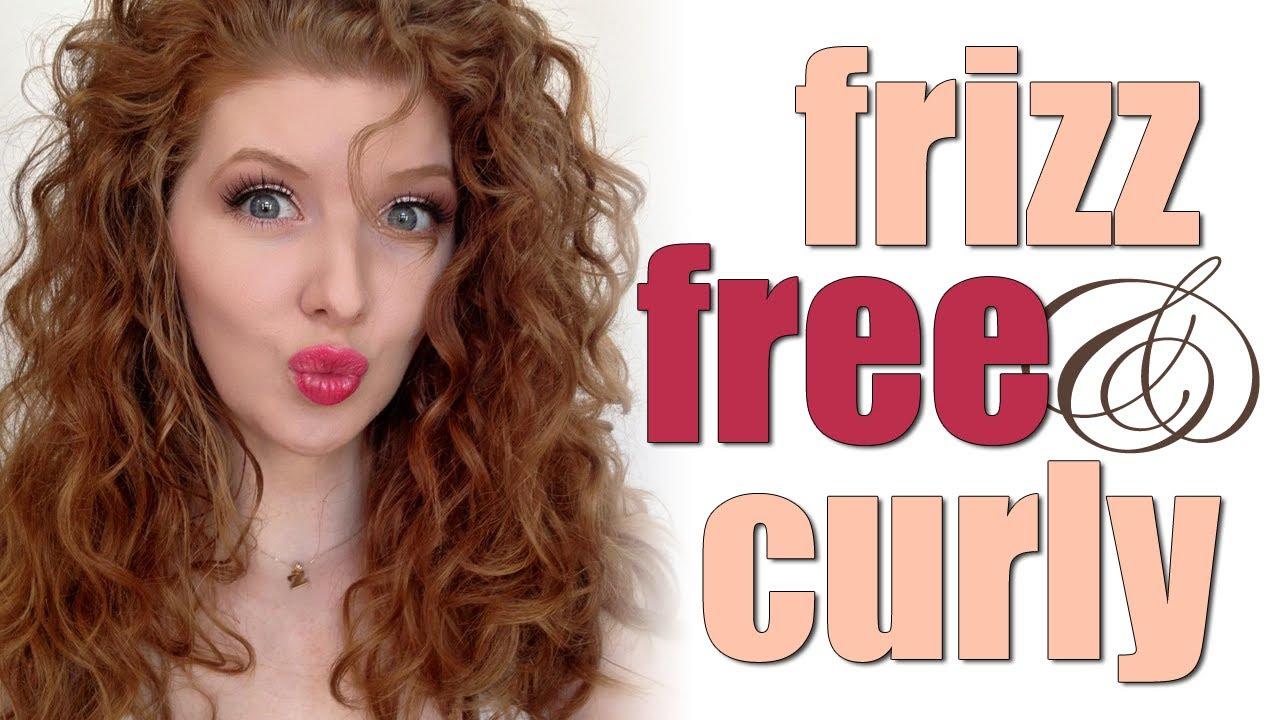 How I Do It Frizz Free Curly Hair Youtube
