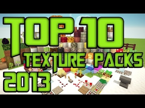 Minecraft Top 10 Texture Packs [1.7.9] + Download [HD] [German/Deutsch]