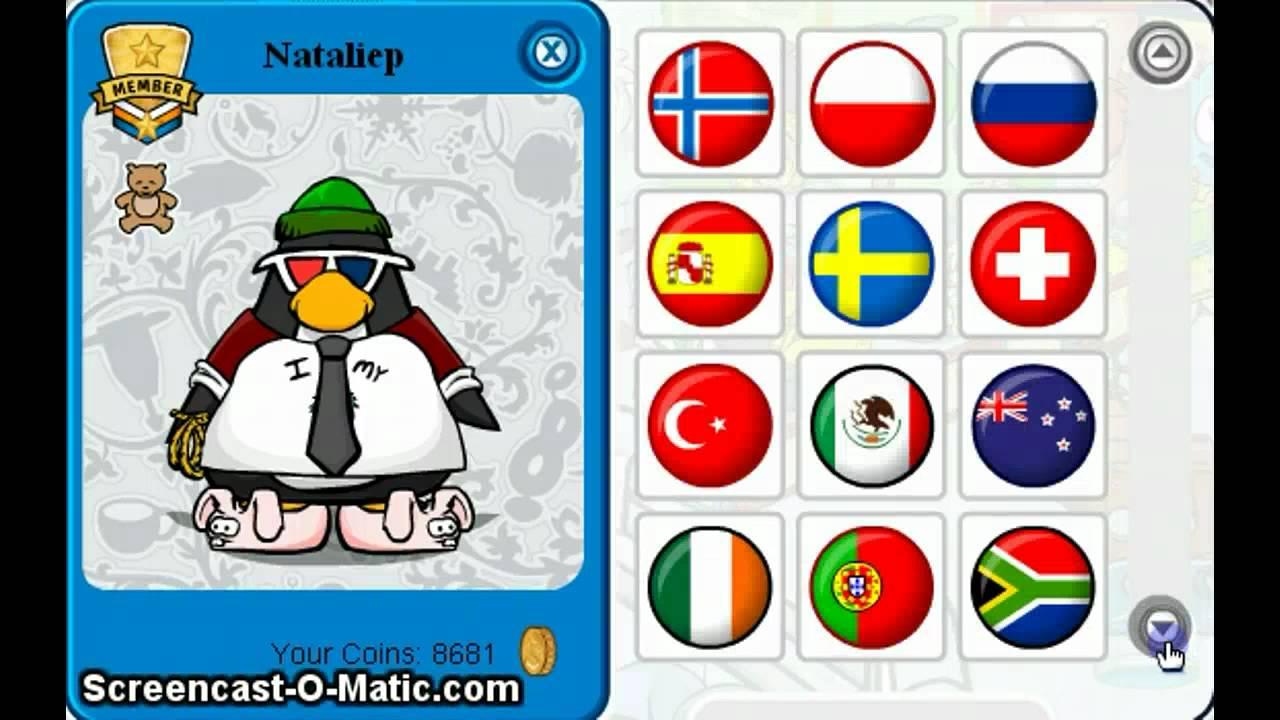 Free rare club penguin member account youtube