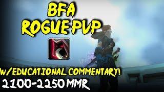 BFA Assassin Rogue PvP - Ret/Rogue 2v2 w/commentary!