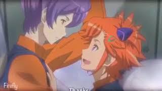 Captain Earth Teppei and Akari