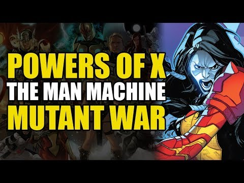 X-Men Powers of X Part 1: The Man-Machine/Mutant War | Comics Explained