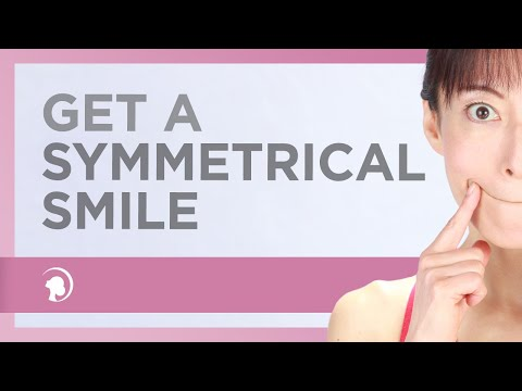 How To Get A Symmetrical Smile With Face Yoga http://faceyogamethod.com/ - Face Yoga Method