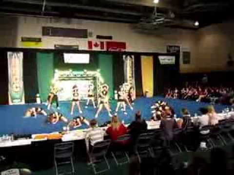 University of Regina Cheerleading - URCC 2012