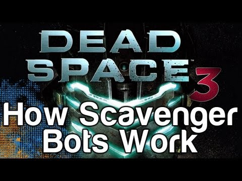 Dead Space 3 - How To Use Scavenger Bots