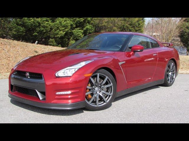 2015 Nissan GT-R Premium Start Up, Road Test ... - YouTube