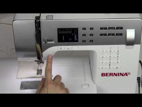 Bernina 330 06  Speed Control Start Stop