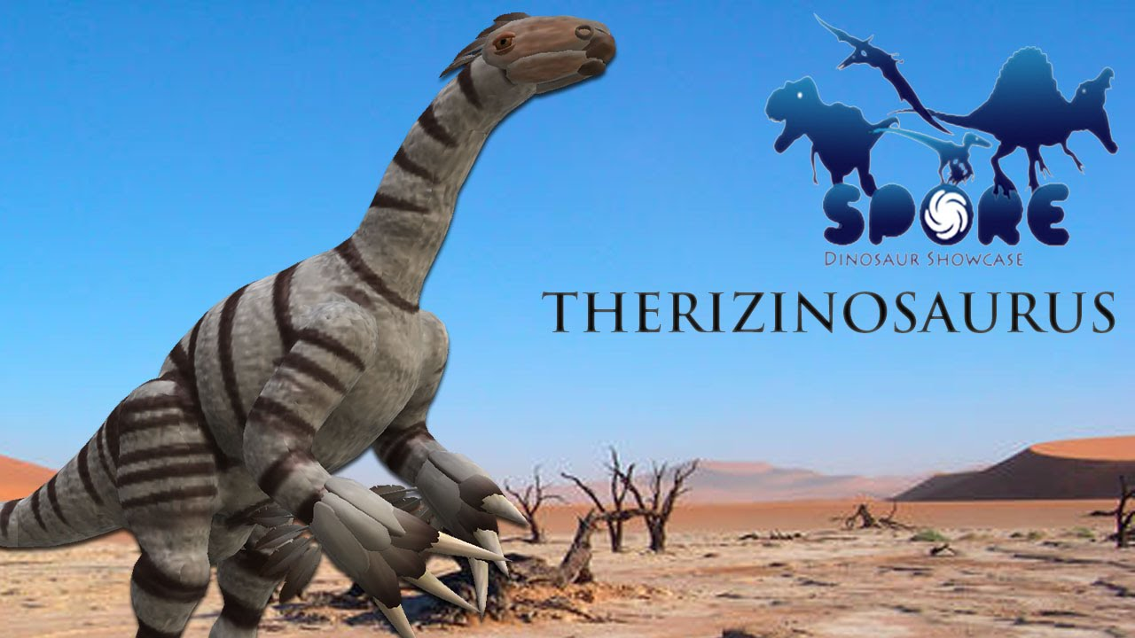 Spore Dino Showcase - Therizinosaurus - YouTube