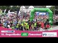 Zieleinlauf beim Siegerländer AOK-Firmenlauf 2018 16:50-33:59