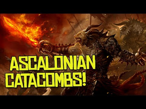 ASCALONIAN CATACOMBS! - Guild Wars 2 (1080p)