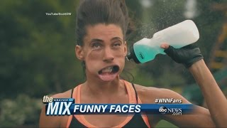 Extreme Slow-Motion Video Shows Funny Faces | ABC News