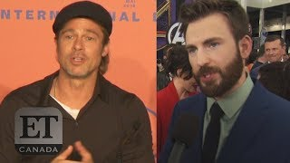 Brad Pitt, Chris Evans Slam 'Straight Pride' Parade