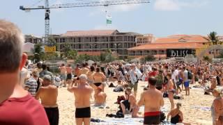 Jet Blast Injuries at St. Maarten Idiots live