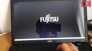 Fujitsu lifebook A series AH512 instalar windows 7