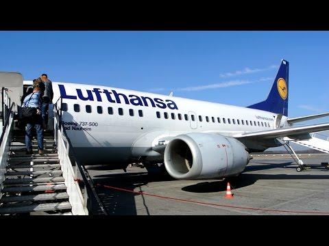 Lufthansa ✈ Boeing 737-500 [D-ABIW] ✈ Katowice - Frankfurt ✈ 08 MAR 2015
