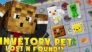 MINECRAFT MODDED INVENTORY PETS LOST AND FOUND MINIGAME