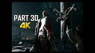 GOD OF WAR Gameplay Walkthrough Part 30 - Sins of the Father (PS4 PRO 4K Commentary 2018)
