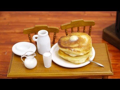 Mini Food Pancake 食べれるミニチュア ホットケーキ