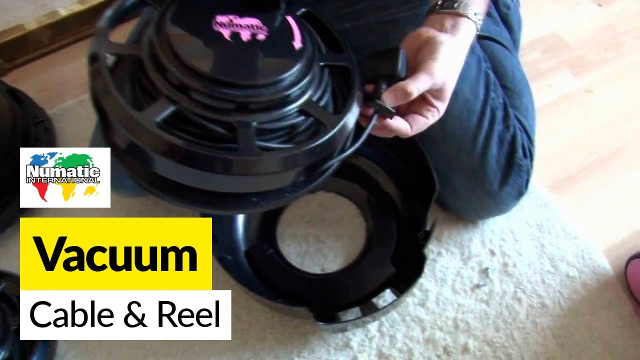 How To Replace A Henry Cable And Reel On A Numatic Henry