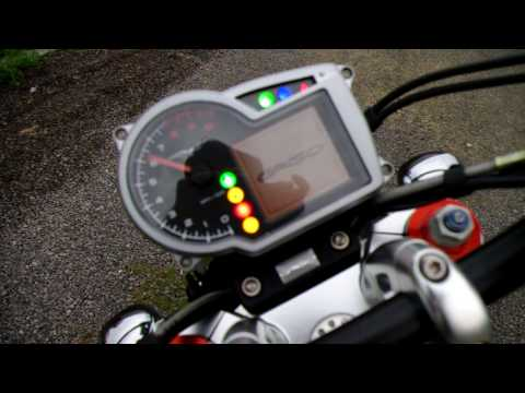 MOTO GUZZI Griso 1100 with Mistral silencer Video