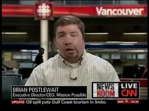 CNN Interview with Mission Possible CEO Brian Postlewait