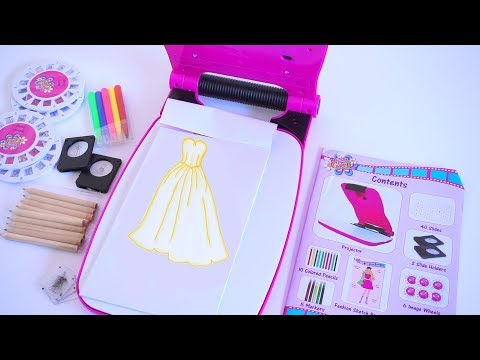 Pretty Little Designer || Fashion Designer Kit Set For Kids || TiaTia