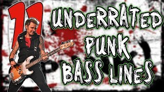 11 INCREDIBLY Underrated Punk Bass Lines