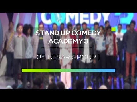 Highlight Stand Up Comedy Academy 3 - 35 Besar Group 1