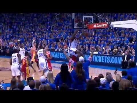 Serge Ibaka Thunders Home the Slam