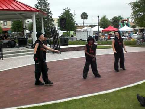 Cameron's Break Crew Dance at Haines CIty Park-Break it Studio5678