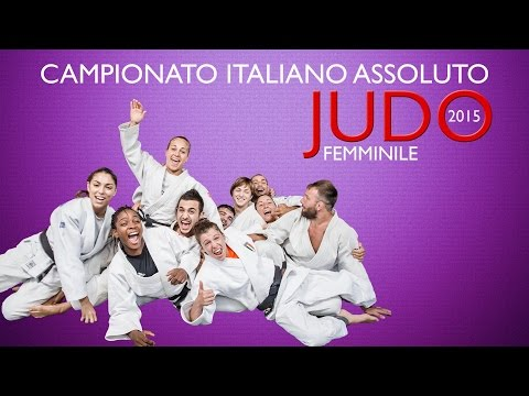 Judo - Campionato Italiano Assoluto Femminile 2015