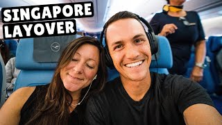 FLYING FROM VIETNAM TO VENICE (Lufthansa & Singapore Airlines)