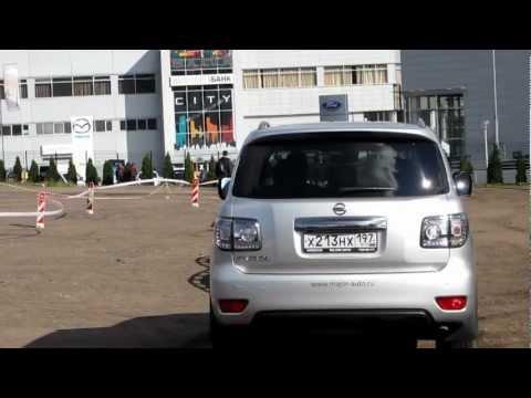 Тест драйв nissan patrol 2012