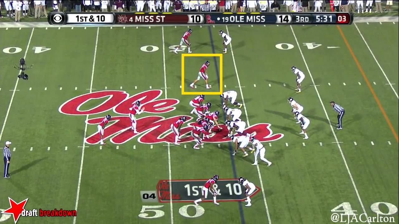 Evan Engram vs Mississippi State (2014)