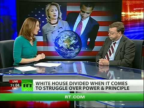 Clinton vs. Obama: White House divided