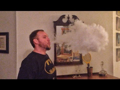 E-Cigarette Huge Vapor Clouds