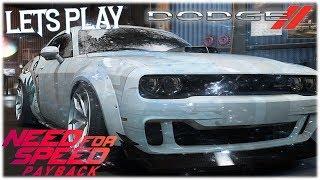 Neues stillgelegtes Auto Dodge Challenger SRT Cold Rim 11.12.18 🚘 Need for Speed Payback