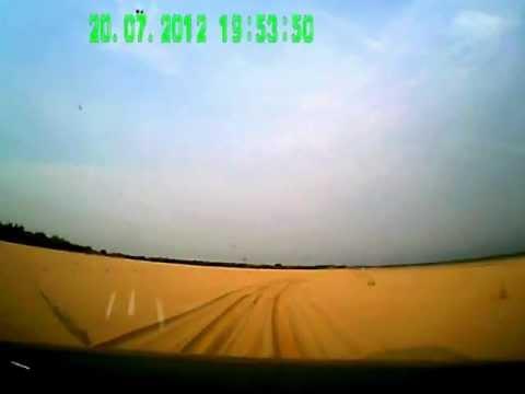 Как Mazda BT-50 едет по пескам...