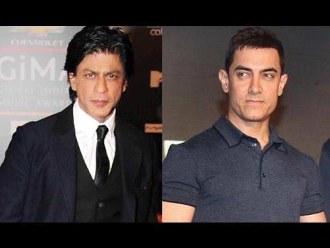 Shah Rukh Khan Calls Aamir Khan 'Aadha Actor'