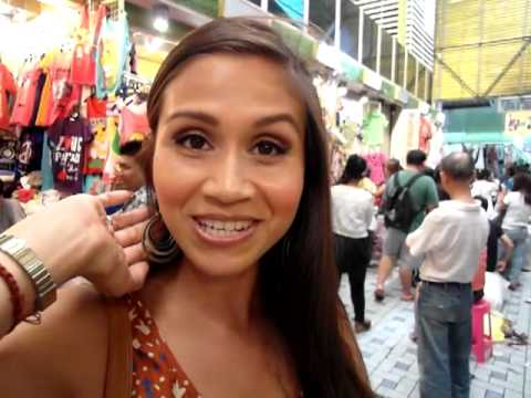Let's rock Bangkok Pratunam Market in Thailand