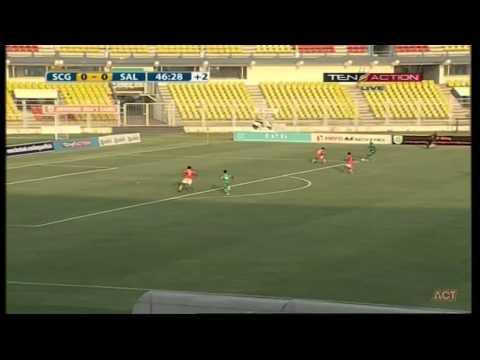 Hero I-League 2015 Sporting Clube (0) vs Salgaocar FC (2) 1-2- 2015
